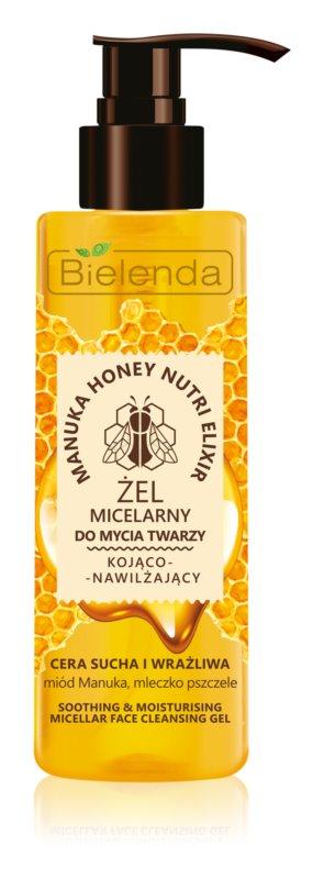 Bielenda Manuka Honey gel micellare detergente per lenire la pelle