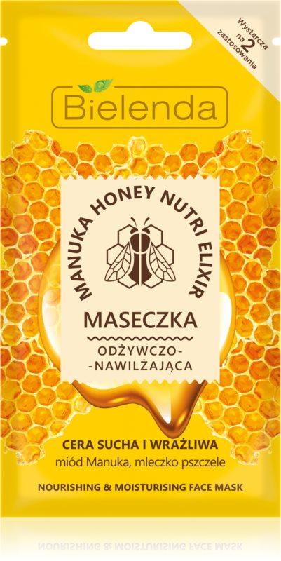 Bielenda Manuka Honey vlažilna in hranilna maska