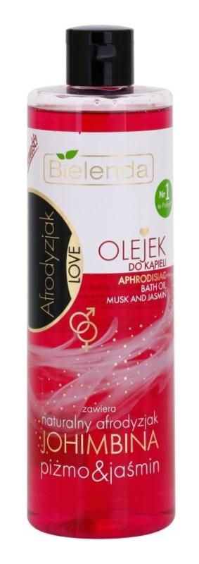 Bielenda Aphrodisiac Love Yohimbine, Musk & Jasmin huile de bain aux huiles essentielles