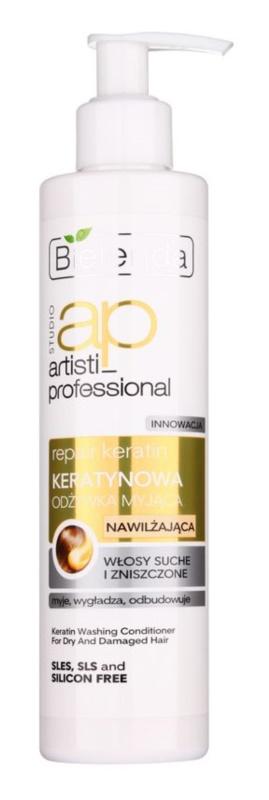 Bielenda Artisti Professional Repair Keratin hydratační kondicionér pro suché a poškozené vlasy