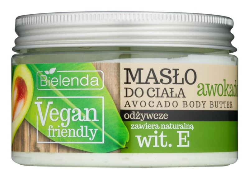 Bielenda Vegan Friendly Avocado manteiga corporal