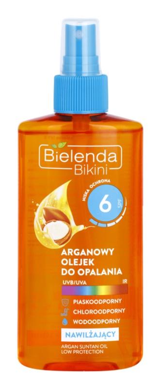 Bielenda Bikini Argan Oil олійка-спрей для засмаги SPF 6