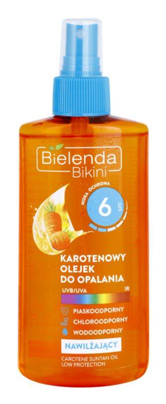 Bielenda Bikini Carotene olio abbronzante idratante spray SPF 6