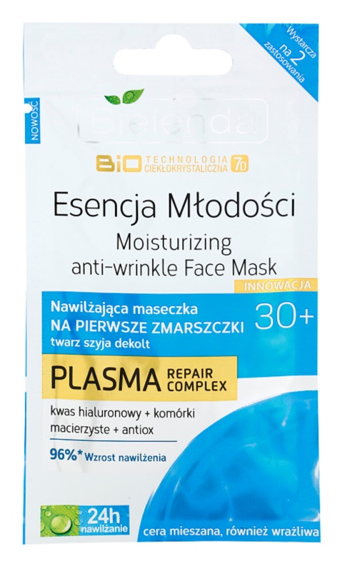 Bielenda BioTech 7D Essence of Youth 30+ hidratantna maska za prve bore