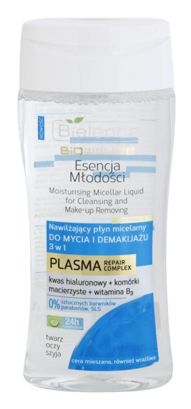Bielenda BioTech 7D Essence of Youth 30+ Міцелярна очищуюча вода 3в1