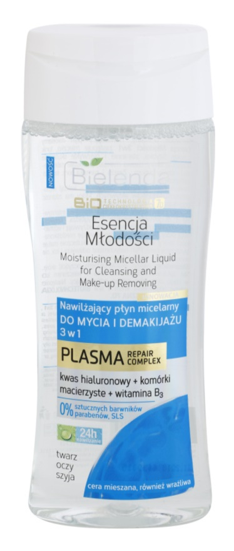 Bielenda BioTech 7D Essence of Youth 30+ Micellar Cleansing Water 3 In 1