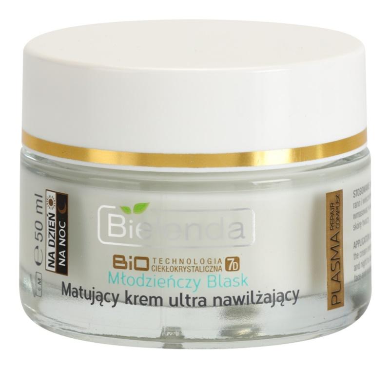 Bielenda BioTech 7D Youthful Glow Mattifying Cream With Moisturizing Effect