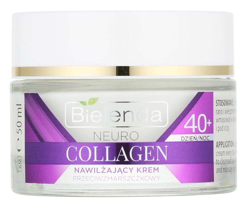 Bielenda Neuro Collagen feuchtigkeitsspendende Creme mit Anti-Falten-Wirkung 40+