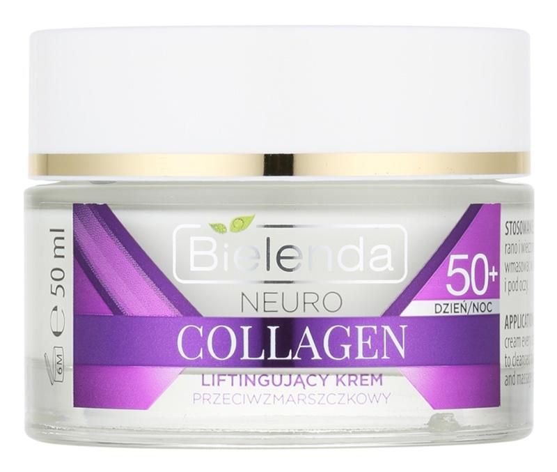Bielenda Neuro Collagen creme com efeito lifting  50+