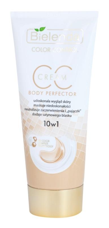 Bielenda Color Control Body Perfector creme CC para o corpo com efeito alisador
