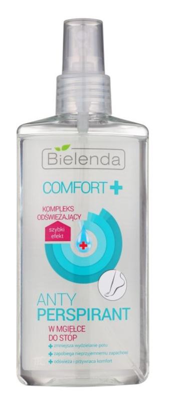 Bielenda Comfort+ antiperspirant v pršilu za noge