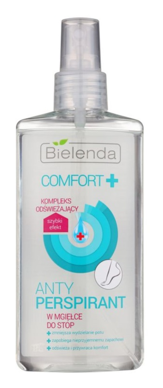 Bielenda Comfort+ антиперспірант спрей для ніг