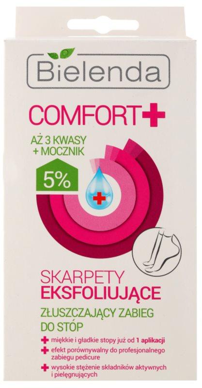 Bielenda Comfort+ eksfoliacijske nogavice za mehčanje in vlaženje kože stopal