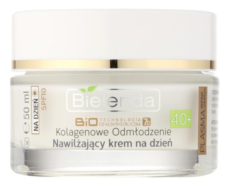 Bielenda BioTech 7D Collagen Rejuvenation 40+ hydratační denní krém SPF 10