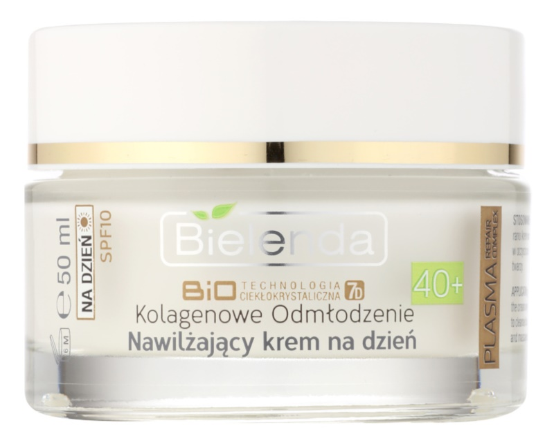 Bielenda BioTech 7D Collagen Rejuvenation 40+ Hydrating Day Cream SPF 10