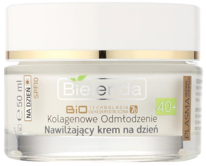 Bielenda BioTech 7D Collagen Rejuvenation 40+ hydratisierende Tagescreme LSF 10