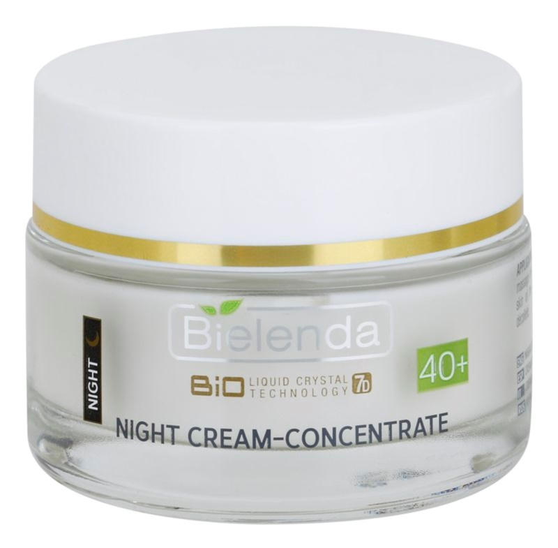 Bielenda BioTech 7D Collagen Rejuvenation 40+ nočna intenzivna krema za učvrstitev obraza