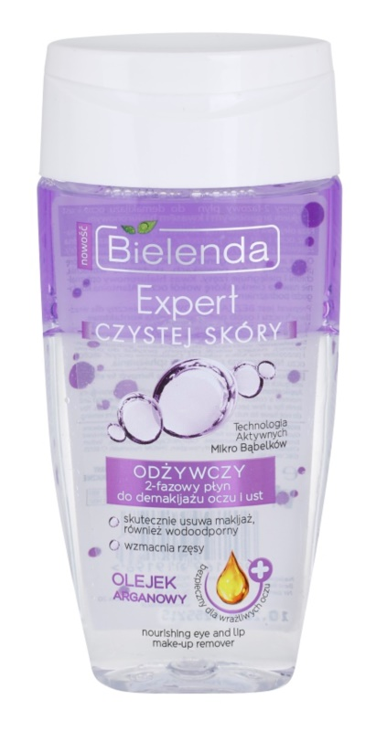 Bielenda Expert Pure Skin Nourishing Eye and Lip Makeup Remover
