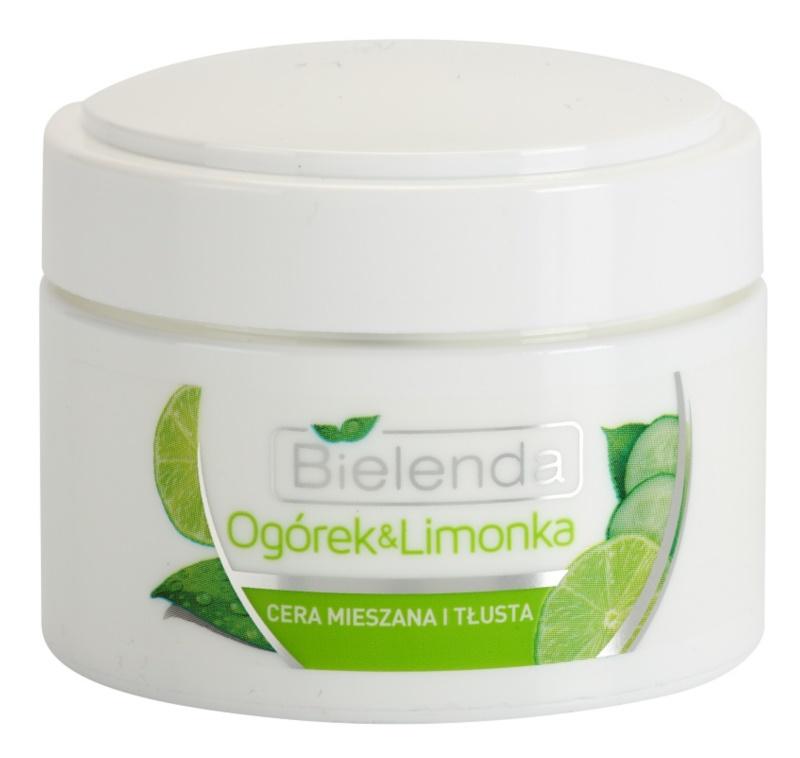 Bielenda Cucumber&Lime hidratantna matirajuća krema za mješovitu i masnu kožu lica