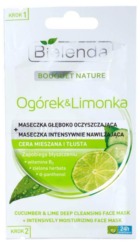 Bielenda Cucumber&Lime maschera detergente effetto idratante
