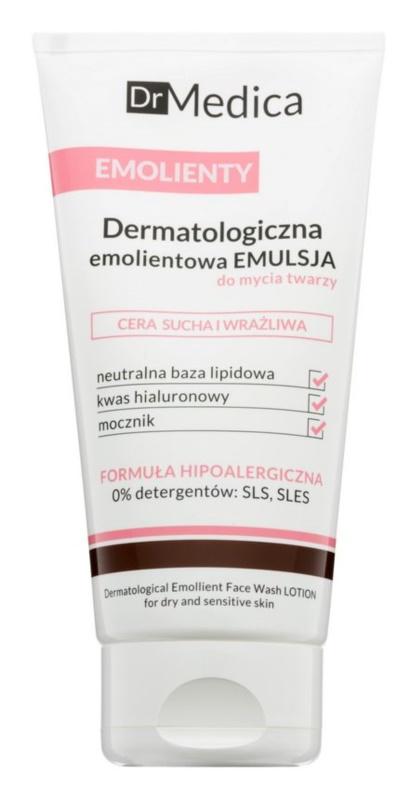 Bielenda Dr Medica Emollients émulsion nettoyante pour peaux sèches à sensibles