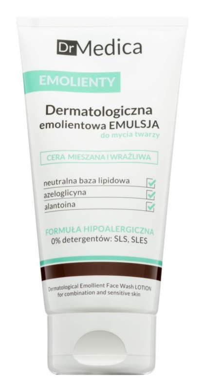 Bielenda Dr Medica Emollients Cleansing Emulsion for Combination Skin