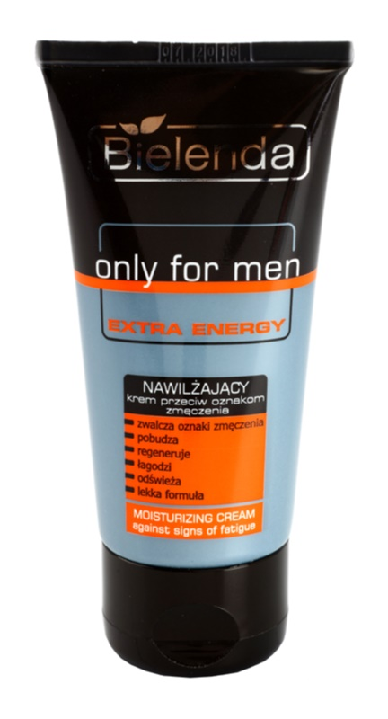Bielenda Only for Men Extra Energy creme intensivo hidratante contra marcas de cansaço