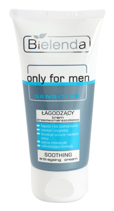 Bielenda Only for Men Sensitive zklidňující krém proti vráskám