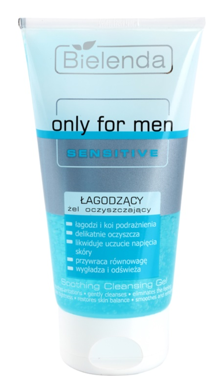 Bielenda Only for Men Sensitive Cleansing Gel For Sensitive And Irritable Skin