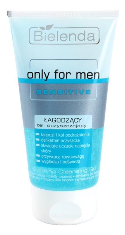 Bielenda Only for Men Sensitive żel oczyszczający do cery wrażliwej i skłonnej do podrażnień