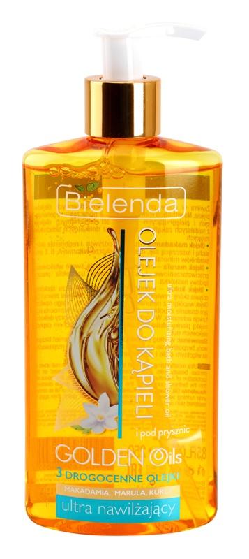 Bielenda Golden Oils Ultra Hydration олійка для душу та ванни зі зволожуючим ефектом