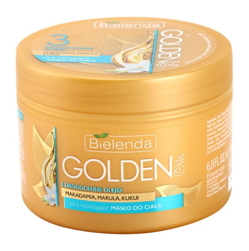 Bielenda Golden Oils Ultra Hydration Intensive Body Butter With Moisturizing Effect