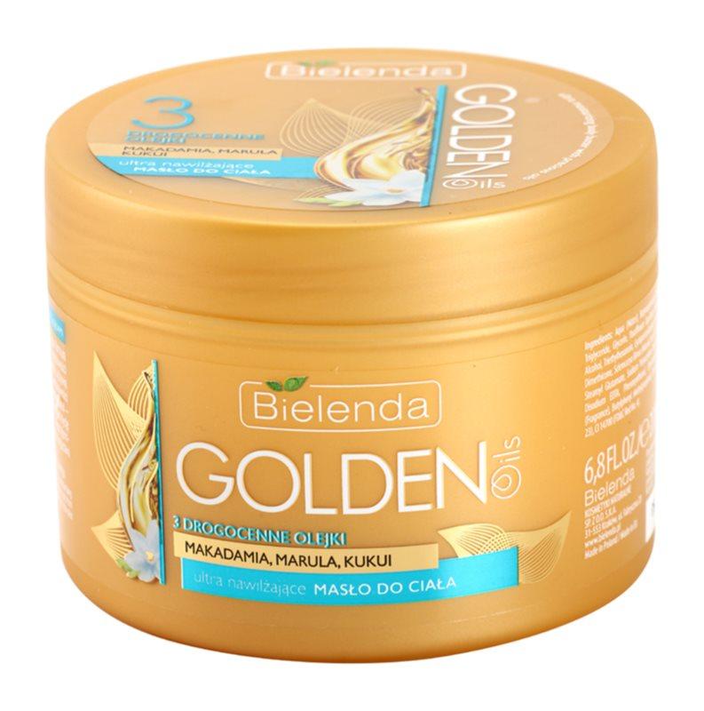 Bielenda Golden Oils Ultra Hydration manteiga corporal intensiva com efeito hidratante