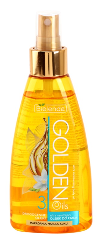 Bielenda Golden Oils Ultra Hydration Body Oil Spray With Moisturizing Effect