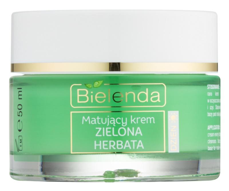 Bielenda Green Tea matirajoča dnevna krema za mešano kožo