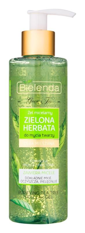 Bielenda Green Tea gel micellaire nettoyant pour peaux grasses et mixtes