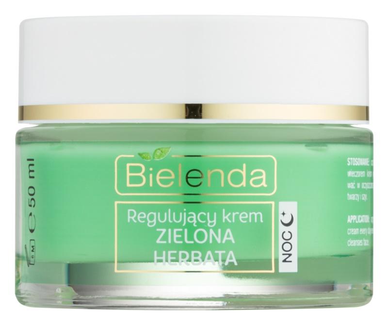Bielenda Green Tea normalizující noční krém pro smíšenou pleť