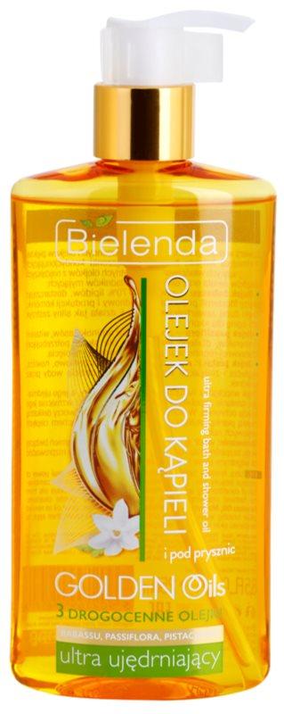 Bielenda Golden Oils Ultra Firming gel de dus si baie pentru fermitatea pielii