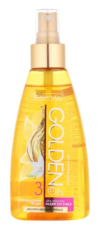 Bielenda Golden Oils Ultra Nourishing huile bain et douche pour peaux sèches