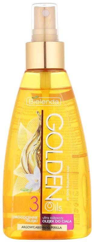 Bielenda Golden Oils Ultra Nourishing óleo de banho e duche para pele seca