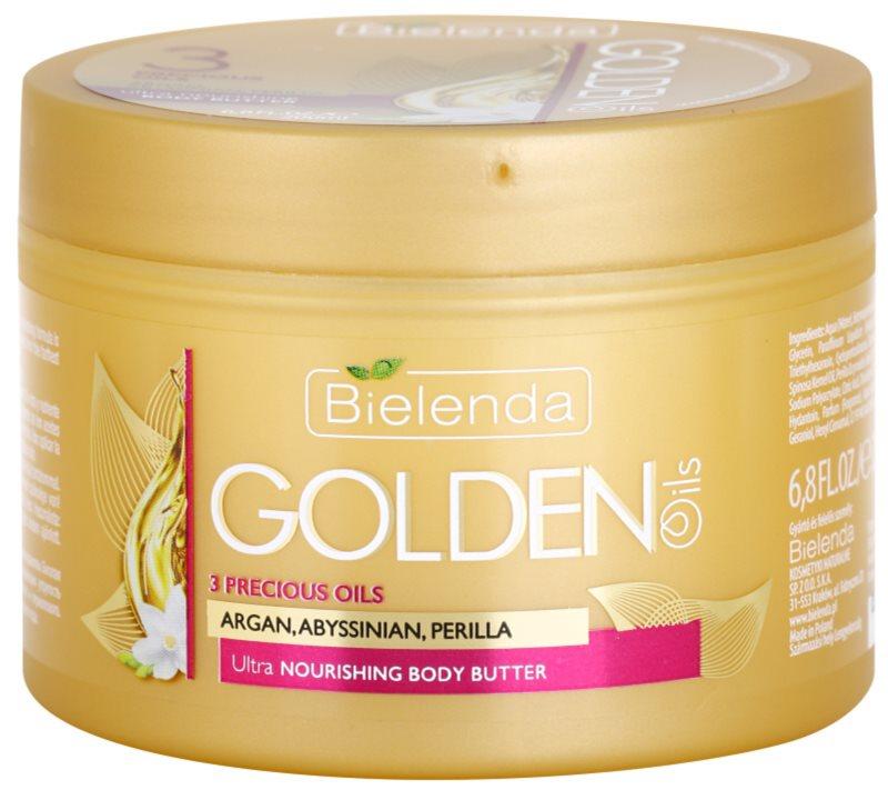 Bielenda Golden Oils Ultra Nourishing intensive Körperbutter für trockene Haut