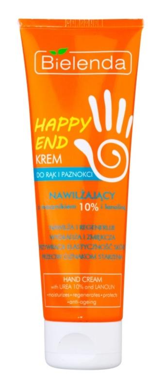 Bielenda Happy End зволожуючий та пом'якшуючий крем для рук та нігтів