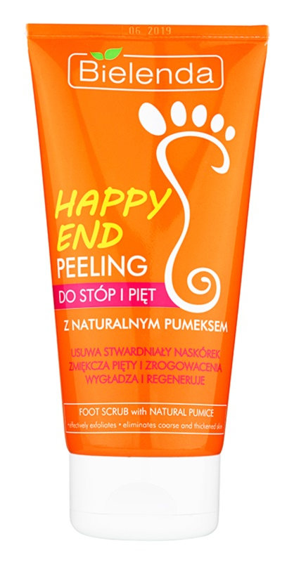 Bielenda Happy End peeling do stóp i pięt z naturalnym pumeksem