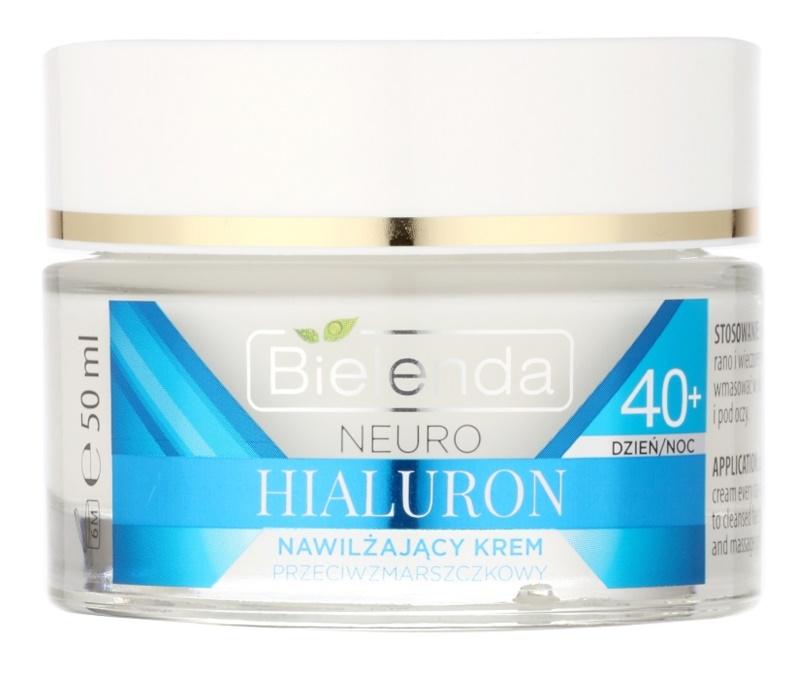 Bielenda Neuro Hyaluron crème hydratante concentrée effet lissant