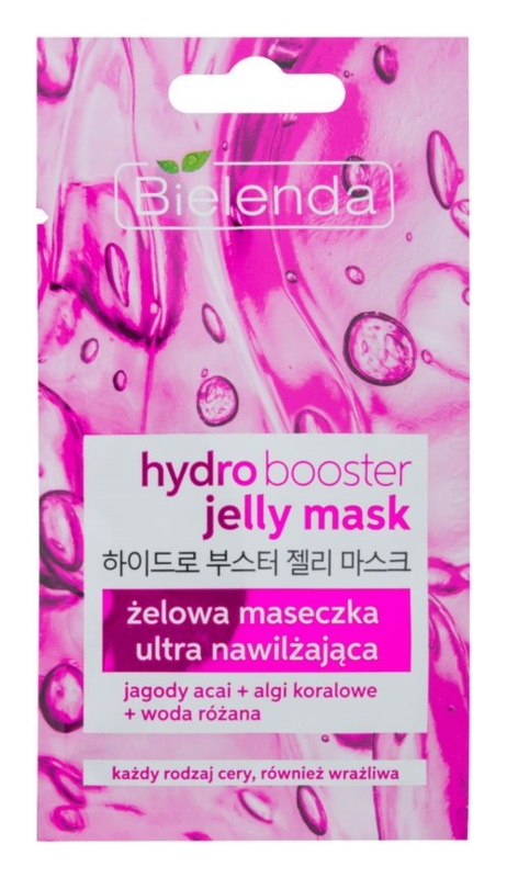 Bielenda Jelly Mask Hydro Booster gel-masque ultra-hydratant visage