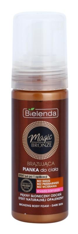 Bielenda Magic Bronze mousse autoabbronzante per pelli spente