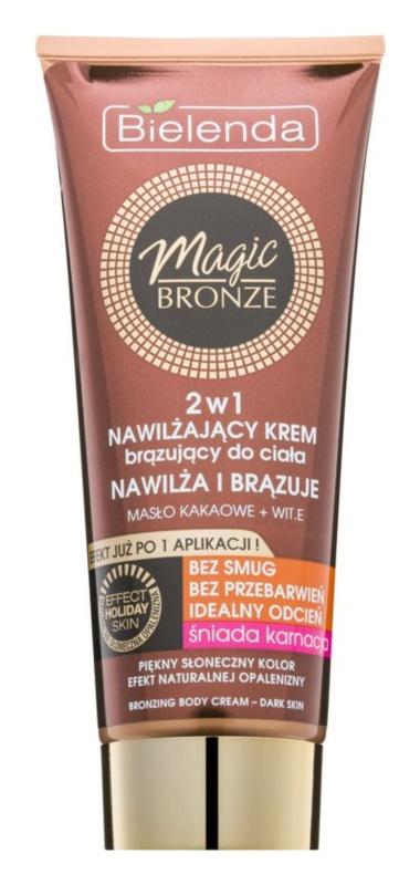 Bielenda Magic Bronze samoporjavitvena krema za temno kožo z vlažilnim učinkom