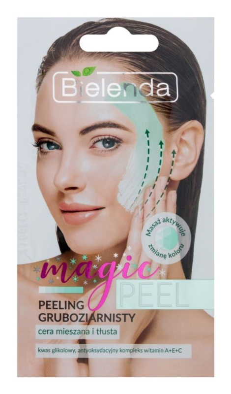 Bielenda Magic Peel exfoliant cu bob aspru