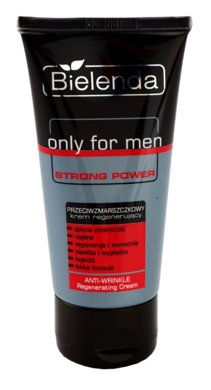 Bielenda Only for Men Strong Power regenerierende Creme gegen Falten