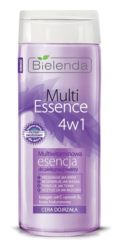 Bielenda Multi Essence 4 in 1 Multivitamin-Essenz für reife Haut
